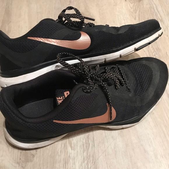 Nike Shoes | Nike Flex Tr 6 Black And